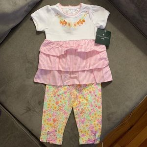 Laura Ashley Baby Girl Outfit